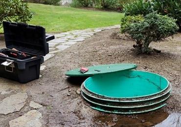 Obsługa przydomowej oczyszczalni ścieków, szamba ekologicznego.