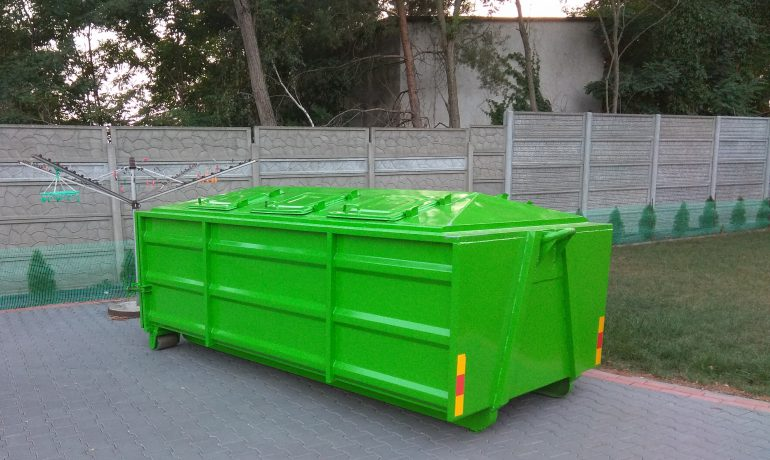Wynajem kontenerów na odpady budowlane